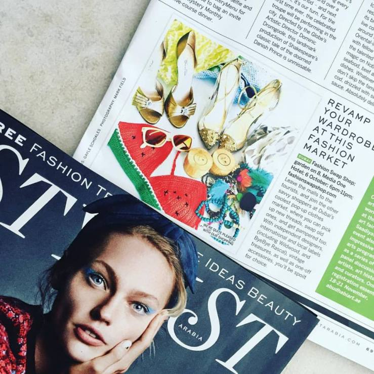 Stylist magazine October